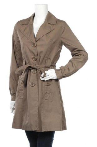 Γυναικεία καμπαρντίνα H&M, Μέγεθος S, Χρώμα Καφέ, 65% πολυεστέρας, 35% βαμβάκι, Τιμή 29,88€