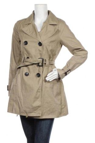 Дамски шлифер H&M Divided, Размер M, Цвят Бежов, Памук, Цена 39,69лв.