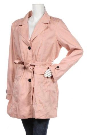 Дамски шлифер Vero Moda, Размер XXL, Цвят Розов, 80% полиестер, 20% памук, Цена 36,86лв.