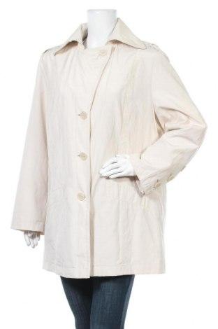 Γυναικεία καμπαρντίνα Yessica, Μέγεθος XL, Χρώμα Εκρού, 55% βαμβάκι, 45% πολυεστέρας, Τιμή 25,92€