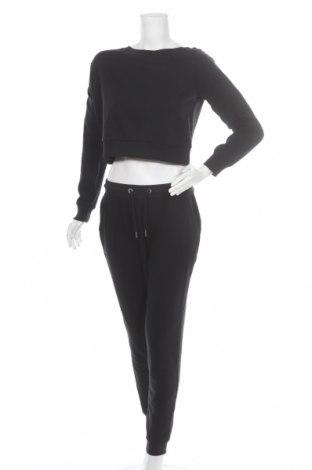 Dámský sportovní komplet  Even&Odd, Velikost S, Barva Černá, 60% bavlna, 40% polyester, Cena  641,00Kč