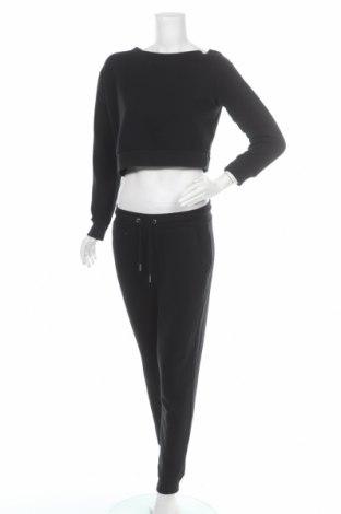 Dámský sportovní komplet  Even&Odd, Velikost M, Barva Černá, 60% bavlna, 40% polyester, Cena  609,00Kč