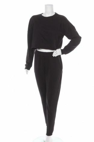 Dámský sportovní komplet  Missguided, Velikost M, Barva Černá, 55% polyester, 45% bavlna, Cena  696,00Kč