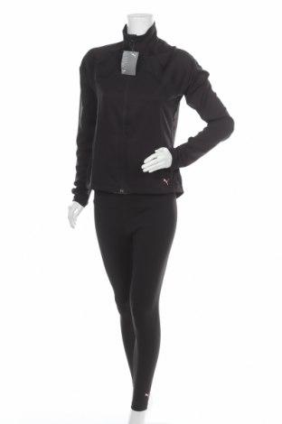 Дамски спортен комплект PUMA, Размер M, Цвят Черен, 85% полиестер, 15% еластан, Цена 134,25лв.
