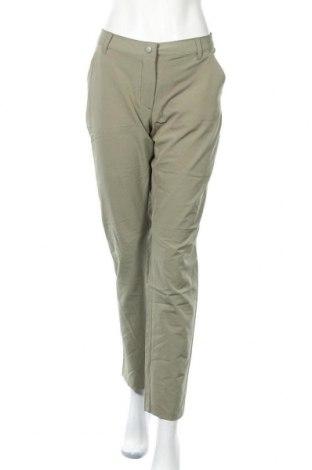 Дамски спортен панталон Crane, Размер M, Цвят Зелен, 90% полиестер, 10% еластан, Цена 32,92лв.