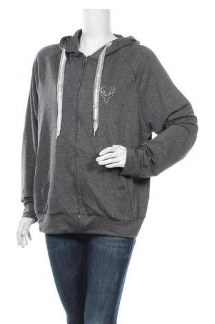 Γυναικείο φούτερ, Μέγεθος XL, Χρώμα Γκρί, Πολυεστέρας, Τιμή 16,05€