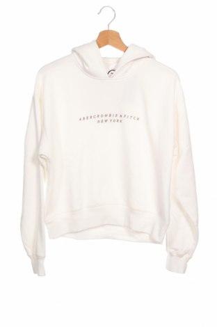 Дамски суичър Abercrombie & Fitch, Размер XS, Цвят Бял, 60% памук, 40% полиестер, Цена 81,75лв.