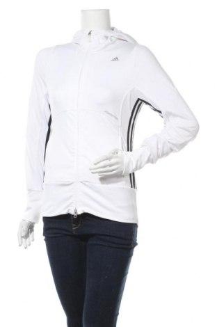 Γυναικείο φούτερ Adidas, Μέγεθος M, Χρώμα Λευκό, 91% πολυεστέρας, 9% ελαστάνη, Τιμή 22,83€