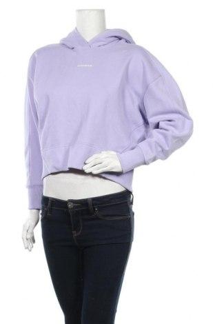 Γυναικείο φούτερ Calvin Klein Jeans, Μέγεθος XS, Χρώμα Βιολετί, Βαμβάκι, Τιμή 42,14€