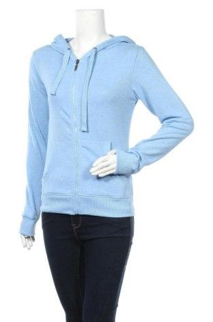 Γυναικείο φούτερ Colours Of The World, Μέγεθος S, Χρώμα Μπλέ, 70% πολυεστέρας, 30% βαμβάκι, Τιμή 16,66€