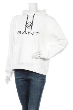 Γυναικείο φούτερ Gant, Μέγεθος L, Χρώμα Λευκό, 78% βαμβάκι, 22% πολυεστέρας, Τιμή 65,33€