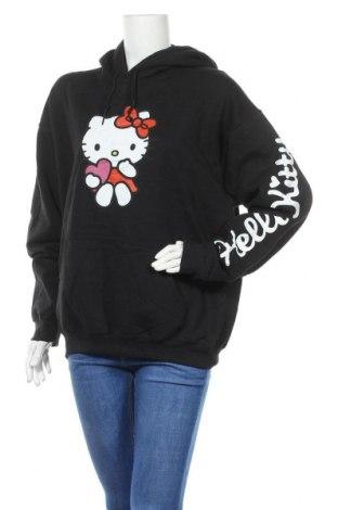 Hanorac de femei Hello Kitty By Sanrio, Mărime S, Culoare Negru, Bumbac, poliester, Preț 126,15 Lei
