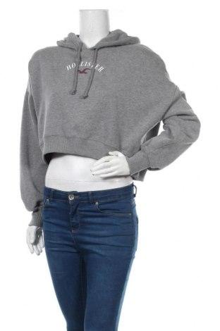 Γυναικείο φούτερ Hollister, Μέγεθος S, Χρώμα Γκρί, 60% βαμβάκι, 40% πολυεστέρας, Τιμή 16,73€