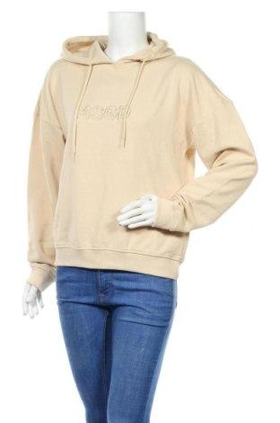 Γυναικείο φούτερ Missguided, Μέγεθος S, Χρώμα  Μπέζ, 60% βαμβάκι, 40% πολυεστέρας, Τιμή 20,88€