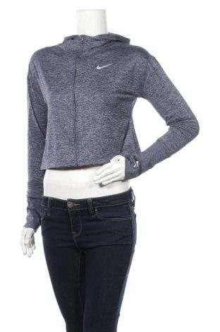 Γυναικείο φούτερ Nike, Μέγεθος S, Χρώμα Μπλέ, 88% πολυεστέρας, 12% ελαστάνη, Τιμή 27,28€