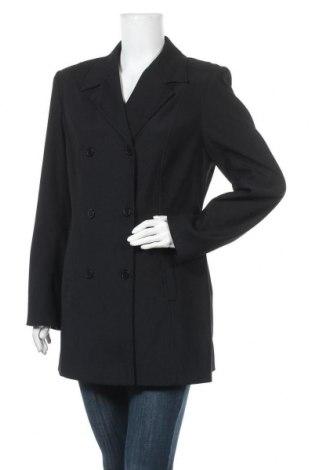 Γυναικείο παλτό Chaloc, Μέγεθος L, Χρώμα Μαύρο, 97% πολυεστέρας, 3% ελαστάνη, Τιμή 25,92€