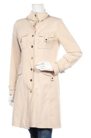 Γυναικείο παλτό Comma,, Μέγεθος M, Χρώμα  Μπέζ, 62% πολυεστέρας, 35% βισκόζη, 3% ελαστάνη, Τιμή 53,68€