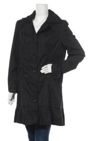 Γυναικείο παλτό Fresh Spirit By Ellos, Μέγεθος XL, Χρώμα Μαύρο, 98% βαμβάκι, 2% ελαστάνη, Τιμή 27,28€