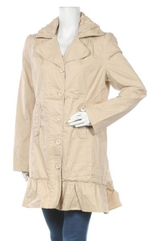 Дамско палто Fresh Spirit By Ellos, Размер XL, Цвят Бежов, 98% памук, 2% еластан, Цена 44,10лв.