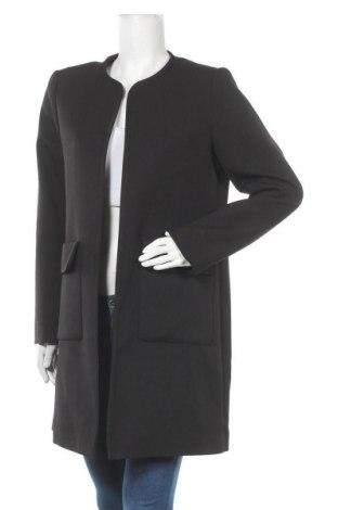 Dámský kabát  H&M, Velikost L, Barva Černá, 95% polyester, 5% elastan, Cena  606,00Kč