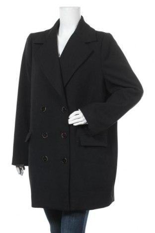 Dámský kabát  H&M, Velikost XXL, Barva Černá, 65% polyester, 31% viskóza, 4% elastan, Cena  893,00Kč