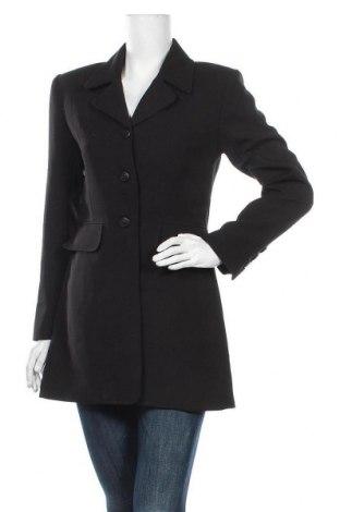 Дамско палто Hennes, Размер M, Цвят Черен, Полиестер, Цена 37,91лв.