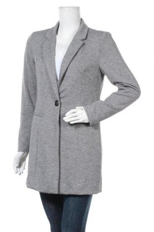 Dámský kabát  Jacqueline De Yong, Velikost M, Barva Šedá, 89% polyester, 8% viskóza, 3% elastan, Cena  606,00Kč