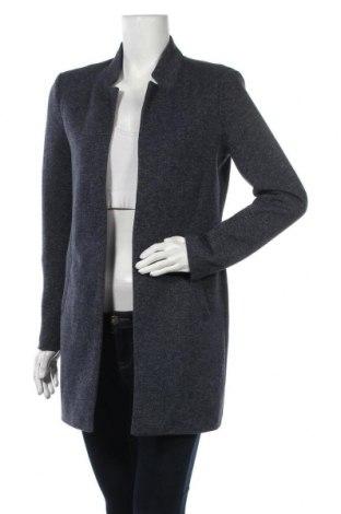 Dámský kabát  ONLY, Velikost S, Barva Modrá, 85% polyester, 15% bavlna, Cena  733,00Kč