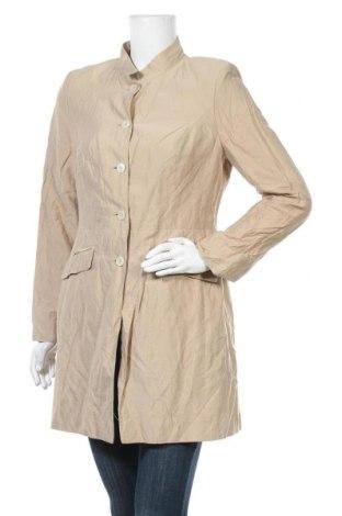 Γυναικείο παλτό S.Oliver, Μέγεθος L, Χρώμα  Μπέζ, 33% βισκόζη, 32% πολυαμίδη, 31% βαμβάκι, 4% μεταλλικά νήματα, Τιμή 20,78€