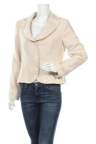 Дамско сако Ashley Brooke, Размер L, Цвят Екрю, 97% памук, 3% еластан, Цена 31,92лв.