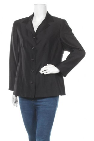 Дамско сако Atelier GS, Размер L, Цвят Черен, Коприна, Цена 35,28лв.