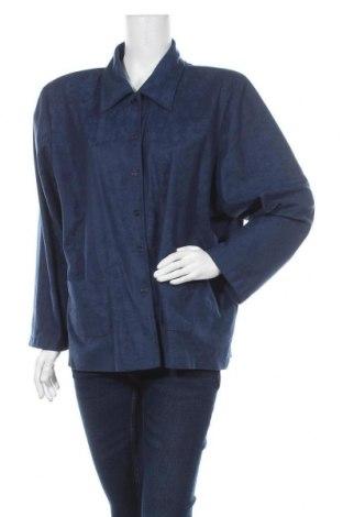 Дамско сако Barisal, Размер 4XL, Цвят Син, 100% полиестер, Цена 19,64лв.