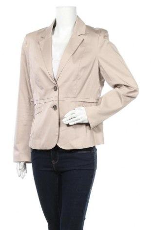 Дамско сако Comma,, Размер L, Цвят Бежов, 98% памук, 2% еластан, Цена 46,20лв.