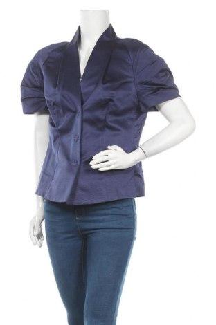 Дамско сако Escada, Размер M, Цвят Син, 73% коприна, 27% полиамид, Цена 117,60лв.