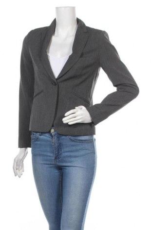 Dámské sako  H&M, Velikost S, Barva Šedá, 72% polyester, 24% viskóza, 4% elastan, Cena  383,00Kč