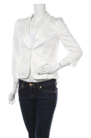 Dámské sako  Hallhuber, Velikost M, Barva Bílá, 65% bavlna, 32% polyamide, 3% elastan, Cena  733,00Kč