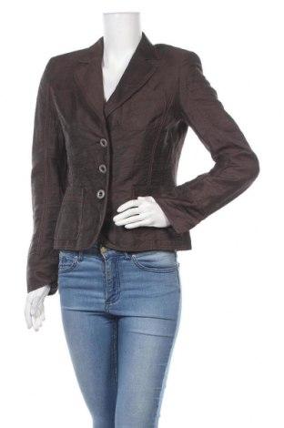 Дамско сако Luisa Cerano, Размер S, Цвят Кафяв, 90% лен, 10% полиамид, Цена 15,93лв.