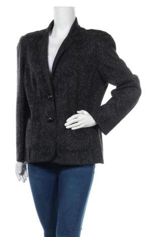 Дамско сако Luisa Cerano, Размер XL, Цвят Сив, 66% вълна, 23% полиакрил, 11% полиамид, Цена 69,00лв.