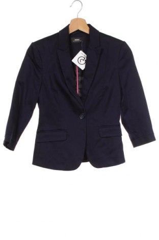 Γυναικείο σακάκι Mexx, Μέγεθος XS, Χρώμα Μπλέ, Τιμή 25,72€