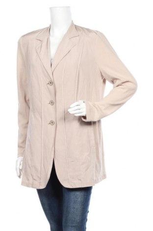 Дамско сако Samoon By Gerry Weber, Размер L, Цвят Бежов, 97% памук, 3% еластан, Цена 21,32лв.