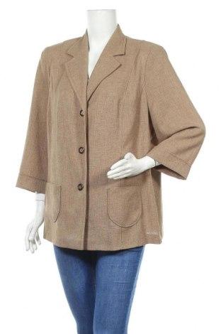 Дамско сако Sommermann, Размер XL, Цвят Бежов, Полиестер, Цена 3,00лв.