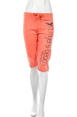 Γυναικείο αθλητικό παντελόνι, Μέγεθος S, Χρώμα Πορτοκαλί, Βαμβάκι, Τιμή 14,19€