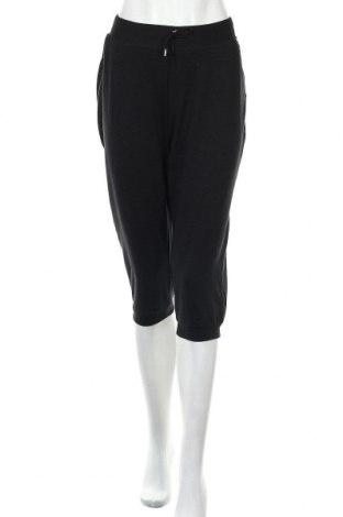 Дамско спортно долнище Active By Tchibo, Размер M, Цвят Черен, 63% полиестер, 32% памук, 5% еластан, Цена 19,64лв.