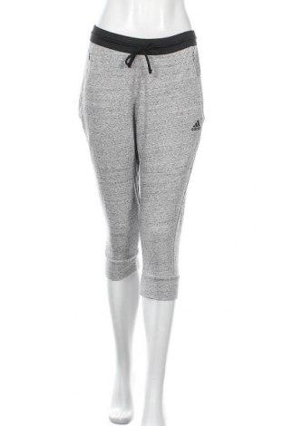 Γυναικείο αθλητικό παντελόνι Adidas, Μέγεθος M, Χρώμα Γκρί, Τιμή 17,28€