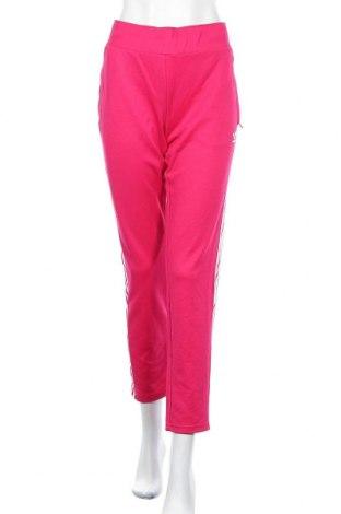 Дамско спортно долнище Adidas Originals, Размер XL, Цвят Розов, 52% памук, 48% полиуретан, Цена 35,70лв.