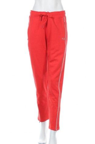 Дамско спортно долнище H.i.s, Размер L, Цвят Червен, 60% памук, 40% полиестер, Цена 51,75лв.