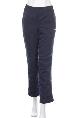 Γυναικείο αθλητικό παντελόνι Jako, Μέγεθος L, Χρώμα Μπλέ, 100% πολυεστέρας, Τιμή 11,69€
