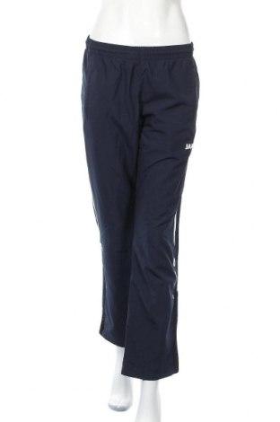 Γυναικείο αθλητικό παντελόνι Jako, Μέγεθος S, Χρώμα Μπλέ, Πολυεστέρας, Τιμή 11,11€