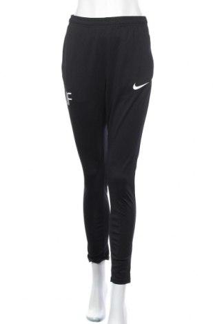 Γυναικείο αθλητικό παντελόνι Nike, Μέγεθος S, Χρώμα Μαύρο, Πολυεστέρας, Τιμή 14,94€
