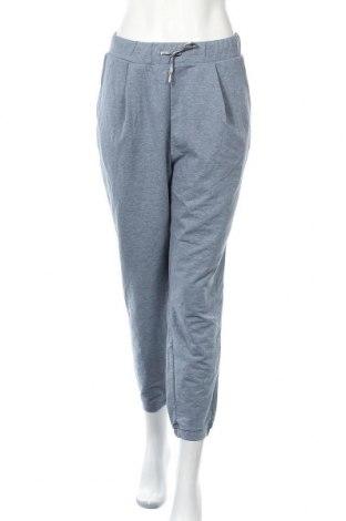 Γυναικείο αθλητικό παντελόνι Tchibo, Μέγεθος M, Χρώμα Μπλέ, 57% βαμβάκι, 40% πολυεστέρας, 3% ελαστάνη, Τιμή 11,04€